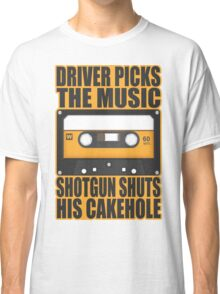 SUPERNATURAL - Driver Picks the Music.. Classic T-Shirt
