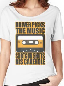 SUPERNATURAL - Driver Picks the Music.. Women's Relaxed Fit T-Shirt