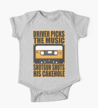 SUPERNATURAL - Driver Picks the Music.. One Piece - Short Sleeve