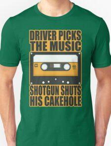 SUPERNATURAL - Driver Picks the Music.. Unisex T-Shirt