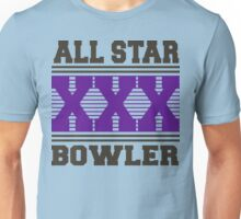 XXX Bowler Bowling T-Shirt Unisex T-Shirt