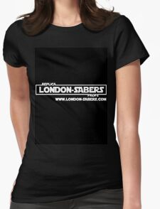 London-Sabers logo Womens Fitted T-Shirt