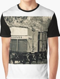 Vintage train carriage - explosives Graphic T-Shirt