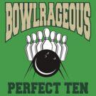 Funny Perfect Ten Bowler Bowling T-Shirt by SportsT-Shirts