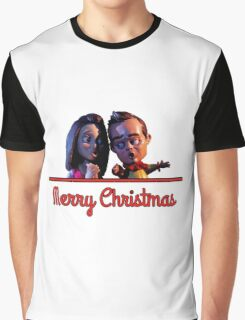 Community Christmas - Jeff and Annie (Style B) Graphic T-Shirt