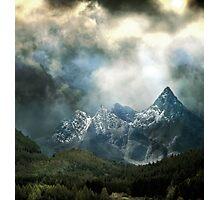 Light of the Gods. Photographic Print