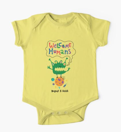 Welcome Humans Kids Clothes
