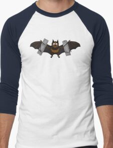 Do-It-Yourself Bat Logo Men's Baseball ¾ T-Shirt
