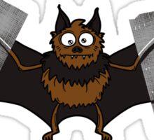 Do-It-Yourself Bat Logo Sticker