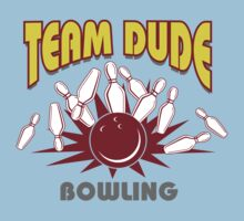 The Dude Bowling T-Shirt Kids Clothes