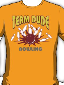 The Dude Bowling T-Shirt T-Shirt