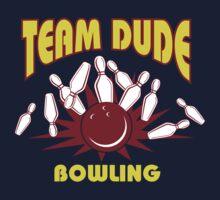 The Dude Bowling T-Shirt Kids Tee