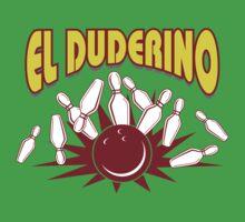 El Duderino Bowling T-Shirt Kids Clothes