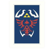 Zelda Ocarina of Time Poster Art Print