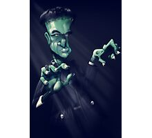 Frankie the monster Photographic Print