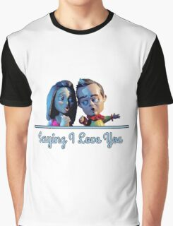 Community - Jeff and Annie Saying I Love You (Style B) Graphic T-Shirt
