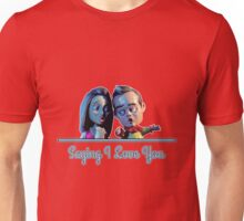 Community - Jeff and Annie Saying I Love You (Style B) Unisex T-Shirt