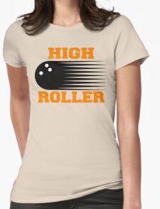 High Roller Bowling T-Shirt Womens Fitted T-Shirt