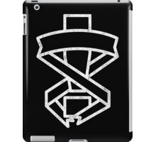 Mgs Exclamation White Print iPad Case/Skin