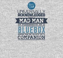 A Mad Man in Possession of a Blue Box Unisex T-Shirt