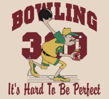 Funny 300 Bowling Score Bowling T-Shirt by SportsT-Shirts