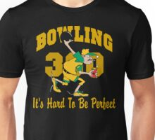Funny Perfect 300 Bowling Game Bowling Dark T-Shirt Unisex T-Shirt
