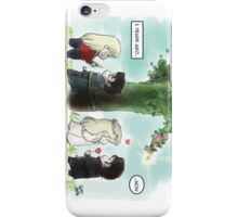 Then and Now - CaptainSwan iPhone Case/Skin