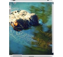 Lurking Gator iPad Case/Skin