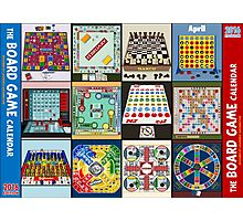 The Board Game Calendar Photographic Print