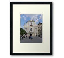 Franciscan Church, Budapest, Hungary Framed Print