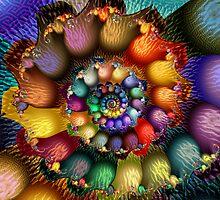 Textured Spiral by wolfepaw