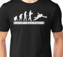 Evolution of Bowling Dark T-Shirt Unisex T-Shirt