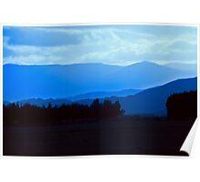 Early Morning Lake Te Anau Poster