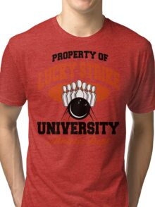 Property Bowling Athletic Department T-Shirt Tri-blend T-Shirt