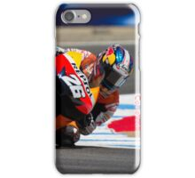 Dani Pedrosa at laguna seca 2012 iPhone Case/Skin