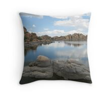 Watson Lake in Prescott, Arizona Throw Pillow