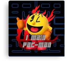 I MAIN PAC-MAN Canvas Print