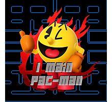 I MAIN PAC-MAN Photographic Print