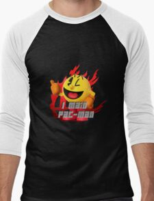 I MAIN PAC-MAN Men's Baseball ¾ T-Shirt