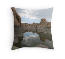 Watson Lake in Arizona Throw Pillow