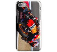Casey Stoner at laguna seca 2012 iPhone Case/Skin