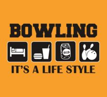 Eat Sleep Bowl Bowling T-Shirt by SportsT-Shirts