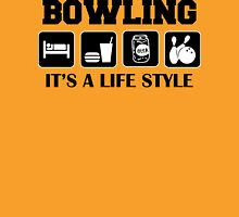 Eat Sleep Bowl Bowling T-Shirt Unisex T-Shirt