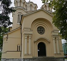 Serbian Orthodox Church of Sts Cyril and Methodius, Ljubljana, Slovenia by Margaret  Hyde