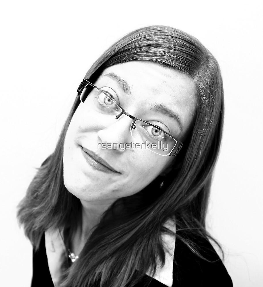 Portrait - Gloria 1 by rsangsterkelly