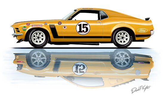 Trans Am Mustang 1970 by davidkyte