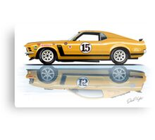 Trans Am Mustang 1970 Metal Print