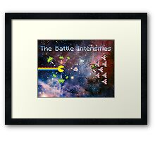 Video Games - The Battle Intensifies Framed Print