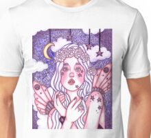 Among The Stars In Lavender Unisex T-Shirt