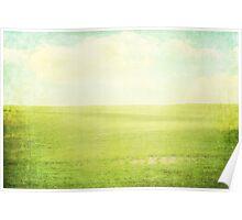 Prairie Summer Poster